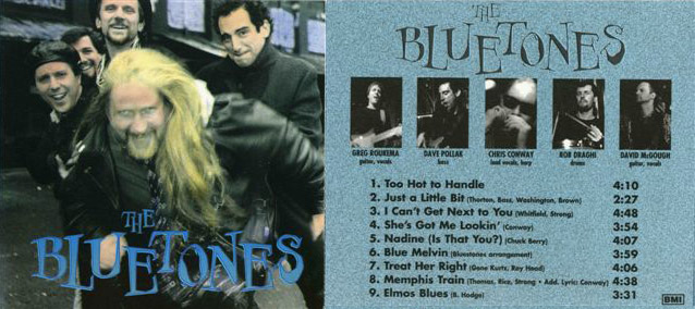 David McGough music image The Bluetones 1996