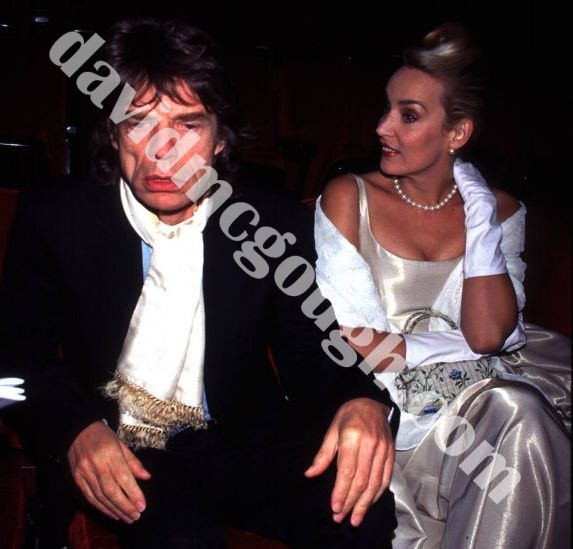 Mick Jagger and Jerry Hall 1996, NY6.jpg
