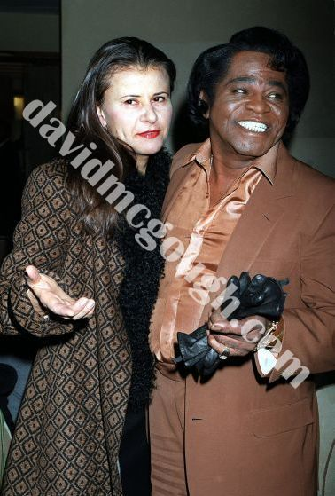 Tracy Ullman and James Brown 1999, NY.jpg