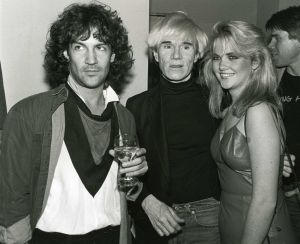 Andy Warhol, Billy Squire, Cornelia Guest  1983, NYC.jpg