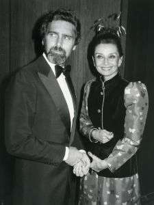 Audrey Hepburn and Rob Wolders 1981, Washington, DC.jpg