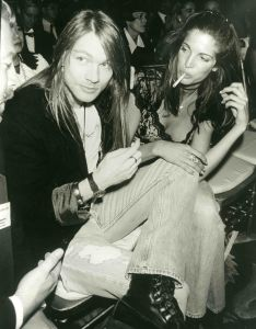 Axyl Rose, Stephanie Seymour 1991 NYC.jpg