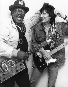 Bo Diddley,  Ron Wood,  1987 , NYC.jpg