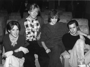 Molly Ringwald, Anthony Michael Hall, Ally Sheedy, Judd Nelsen 1985.jpg