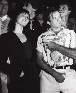 Pat Benatar with Robin Williams 1982, NYC, cliff.jpg