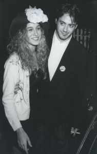 Sara Jessica Parker and Robert Downey Jr. 1988, LA.jpg