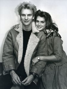 Sting and Brooke Shields 1981, NYC cliff.jpg