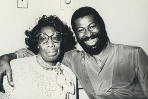 Teddy Pendergrass and his mom 1978, NY.jpg