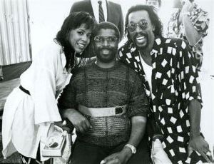 Teddy Pendergrass, Ashford and Simpson 1985.jpg