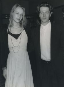 Uma Thurman and Gary Oldman 1990, NY.jpg