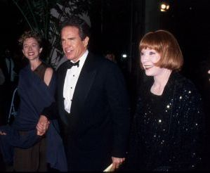 Warren Beatty with Annette Bening and Shirley MacLaine 1994, LA.jpg