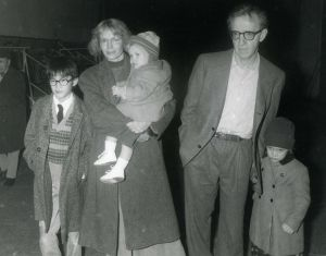 Woody Allen, sons Dylan, Satchel, Moses 1989 NYC.jpg
